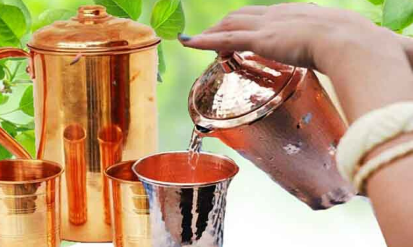Want To Be Healthy_ Drink Water From A Copper Vessel