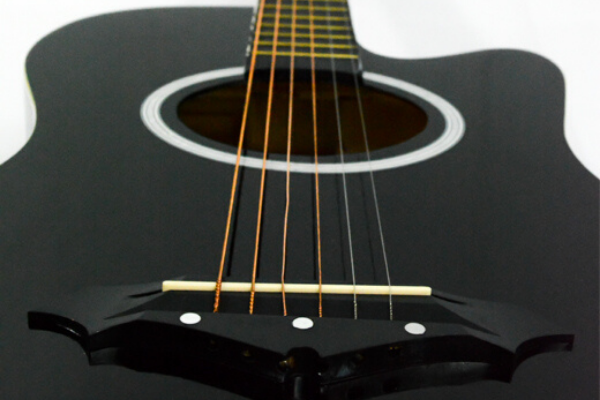 Global F382 Ordinary Acoustic Guitar (Black)