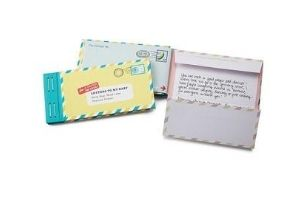 Write letters to your upcoming baby
