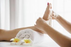 Get foot massages