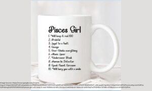 mug design for Piscean