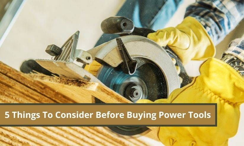 Buying Power Tools