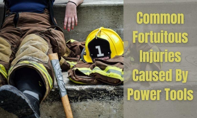 power tool injuries